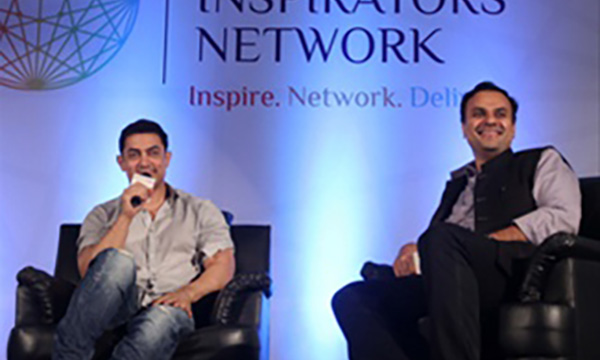 Aamir Khan to be Chief Inspirator of Young Inspirators' Network
