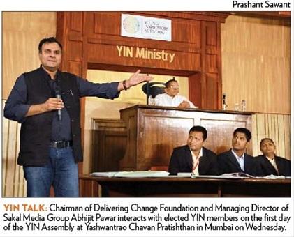 Change mindset to bring positive change in society Abhijit Pawar
