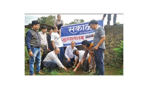 SMG organises a tree-plantation drive!
