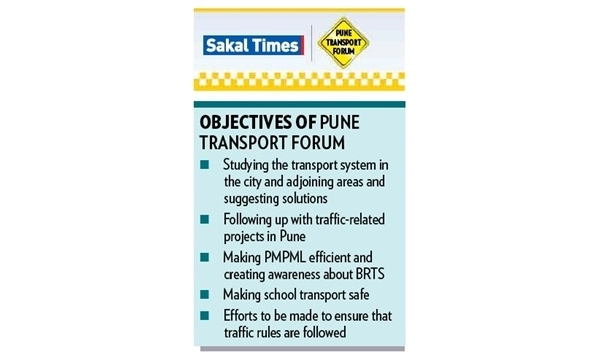 Sakal Media Group to launch Pune Transport Forum !