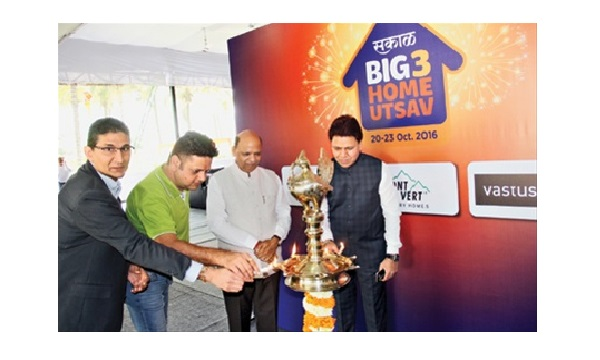 Sakal Big 3 Home Utsav kicks off!
