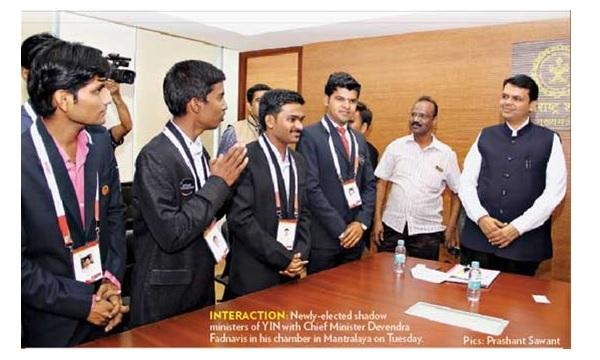 YIN team meets CM