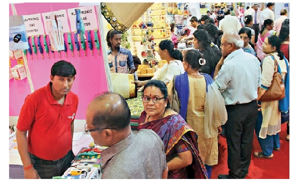 Shoppers thrilled by wide choice at shopping fest!